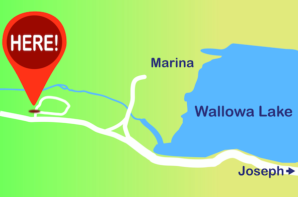 wallowa map